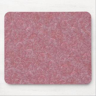 "Digital Rose ""Liquid Marble"" Print Mousepad"