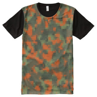 Digital Safety Camo All-Over-Print T-Shirt