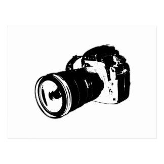Digital SLR camera Postcard
