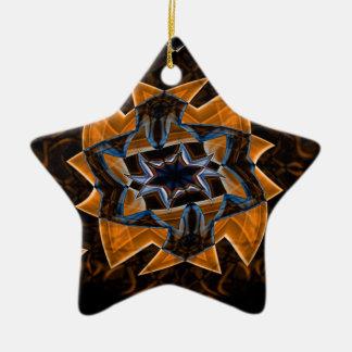 Digital Smoke Art (36).jpg Ceramic Ornament
