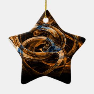 Digital Smoke Art (48).jpg Ceramic Ornament