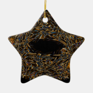 Digital Smoke Art (8).jpg Ceramic Ornament