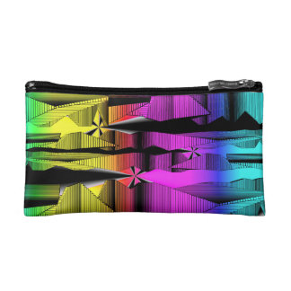 Digital Spectrum Make-up Bag