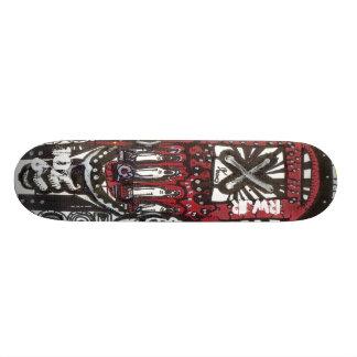 Digital Spit Custom Skate Board