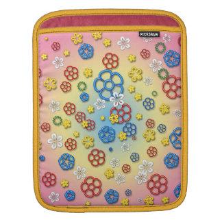 Digital springtime iPad sleeves
