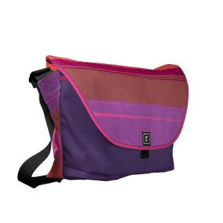 Digital Stripe Design  Messenger Bag