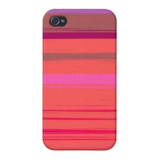 Digital Stripe Design Savy Iphone 4 Case