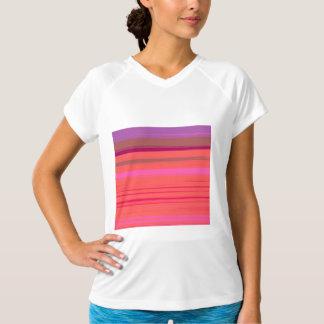 Digital Stripe Design Tee Shirt