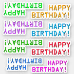 "[ Thumbnail: Digital Style ""Happy Birthday!"" Stickers ]"
