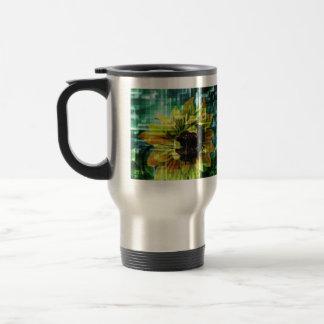Digital Sunflower Mug