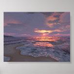 Digital Sunset Print