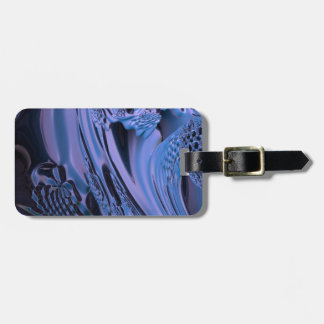digital surprise fluid blue tags for luggage