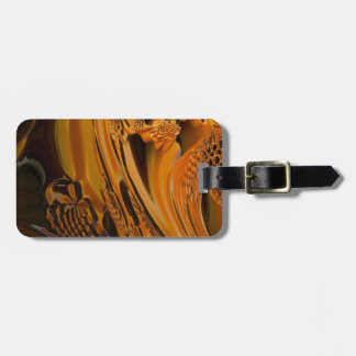 digital surprise fluid orange tags for bags