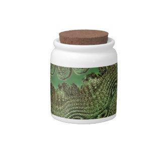 digital surprise green 02 candy jar