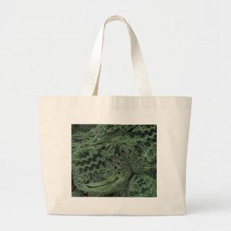 digital surprise green canvas bag