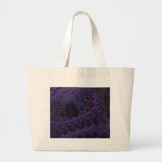 digital surprise purple canvas bag