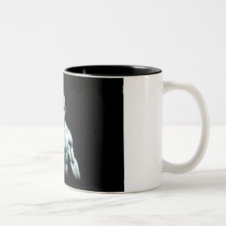 Digital Surveillance and Ethics of Online Privacy Two-Tone Coffee Mug