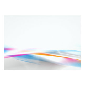 DIGITAL SWIRLS COLOURFUL COLORS GREY GRAY WHITE OR ANNOUNCEMENT