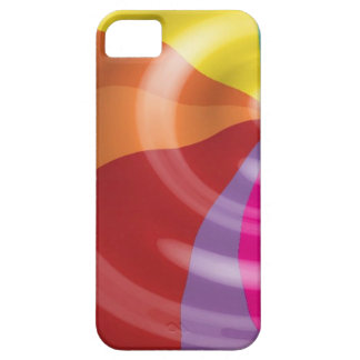 DIGITAL SWIRLS RAINBOW COLORFUL VECTOR FUN PARTY S iPhone 5 COVER