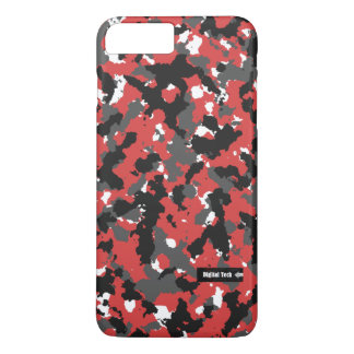 Digital Tech Red Camo iPhone 7 case
