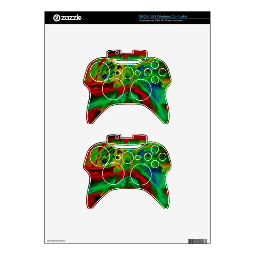 Digital Technology Skins & Covers Xbox 360 Controller Skins