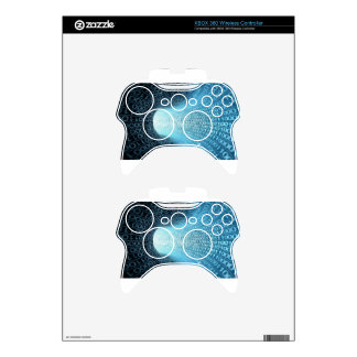 Digital Tunnel Xbox 360 Controller Skins
