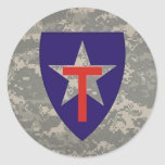 digital, TXSG star-round decal Stickers