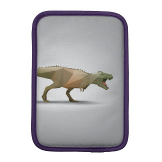 Digital Tyrannosaurus Rex Polygonal Abstract Art iPad Mini Sleeve