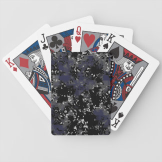 Digital Urban Camo Playing Cards