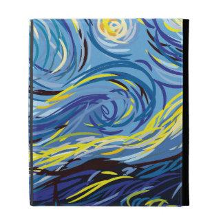 Digital Van Gogh iPad Folio Covers