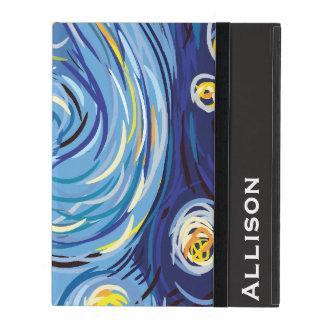 Digital Van Gogh iPad Folio Cases