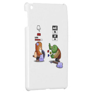 Digital vs Dice Rpg Game iPad Mini Cover