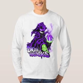 Digital Warlock Purple Warlock - Basic Long Sleeve T Shirt