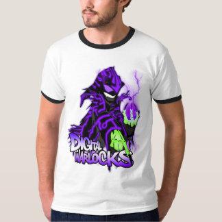 Digital Warlock Purple Warlock T-Shirt