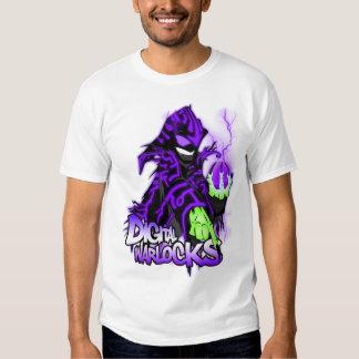 Digital Warlock Purple Warlock T-Shirt. T-shirt