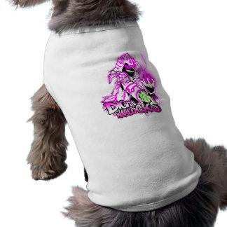 Digital Warlocks Pink and White Warlock - Doggie R Tee