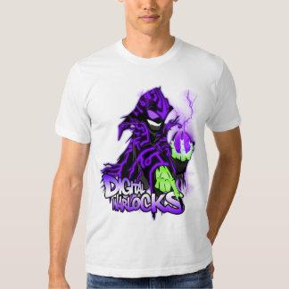 Digital Warlocks Purple Warlock - American Apparel T Shirt