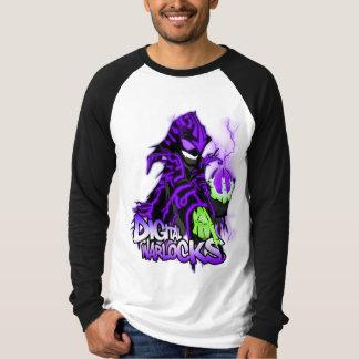 Digital Warlocks Purple Warlock - Basic Long Sleev T-shirt