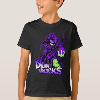 Digital Warlocks Purple Warlock - Kids Dark T-Shir T-Shirt