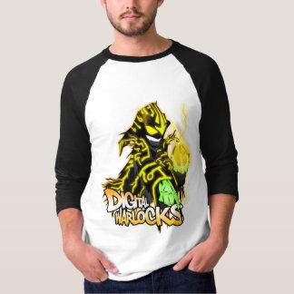 Digital Warlocks Yellow Warlock - Basic 3/4 Sleeve Tee Shirt