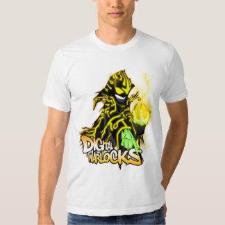 Digital Warlocks Yellow Warlock - Basic American A Shirt
