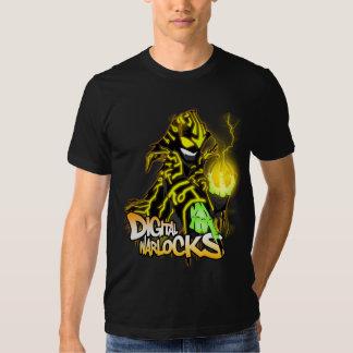 Digital Warlocks Yellow Warlock - Basic American A T Shirt