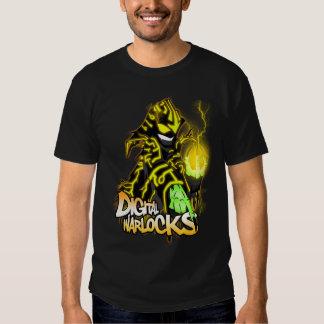 Digital Warlocks Yellow Warlock - Basic Dark T-Shi Tee Shirt