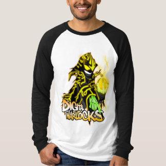 Digital Warlocks Yellow Warlock - Basic Long Sleev T Shirt