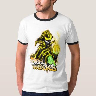 Digital Warlocks Yellow Warlock - Ringer T-Shirt