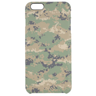 Digital Woodland Camo No.2 Uncommon Clearly™ Deflector iPhone 6 Plus Case