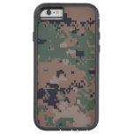 Digital Woodland Camouflage Tough Xtreme iPhone 6 Case