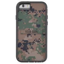 Digital Woodland Camouflage Customizable Tough Xtreme iPhone 6 Case