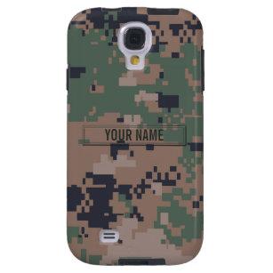 Digital Woodland Camouflage Customizable Galaxy S4 Case