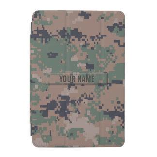 Digital Woodland Camouflage Customizable iPad Mini Cover